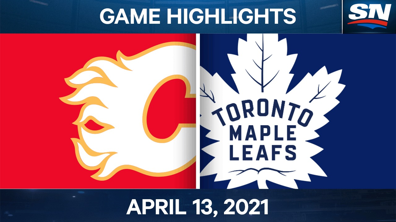 Gaudreau nets OT winner to lift Flames over Maple Leafs