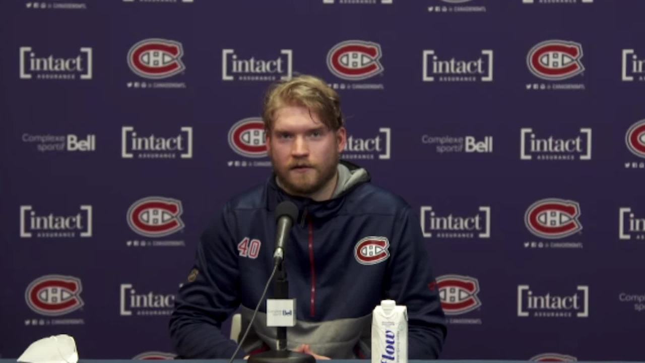 Canadiens' Joel Armia provides details from his COVID-19 experience