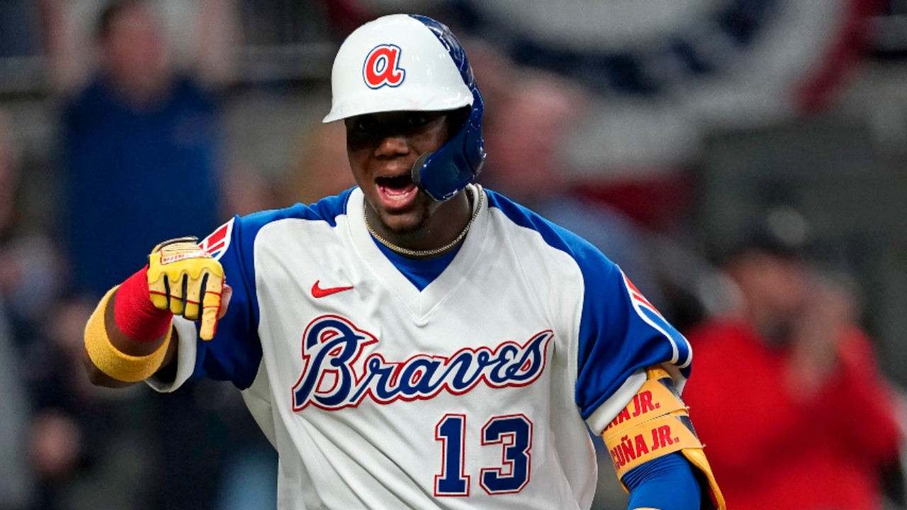 Ronald Acuna heads into Blue Jays series at height of his powers