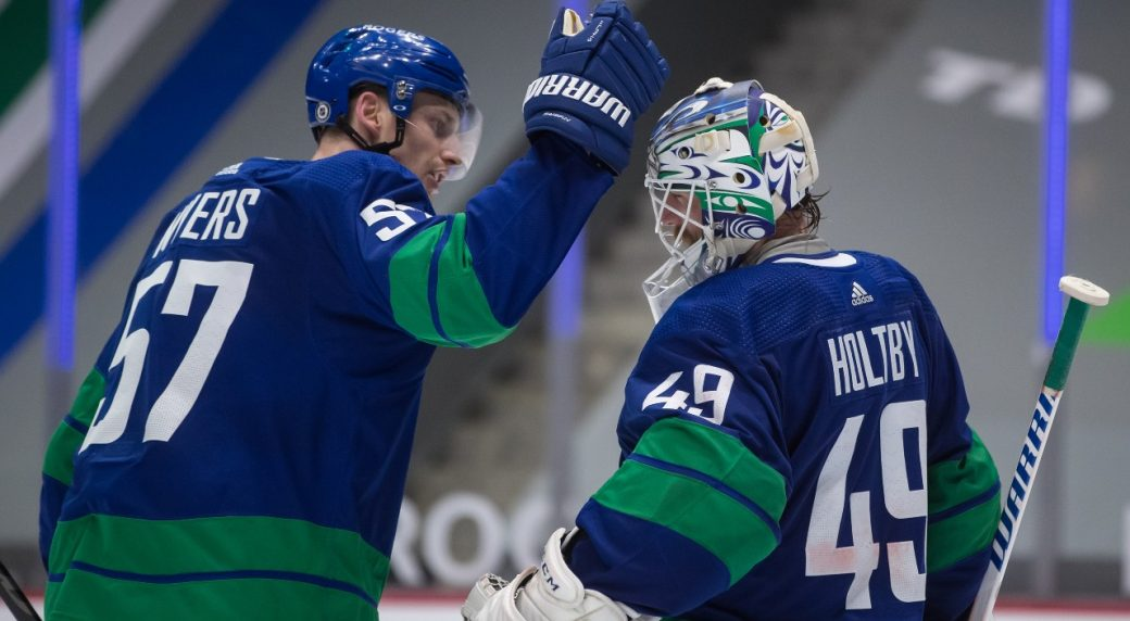 Canucks rebound after dropping the first of four against the Sens