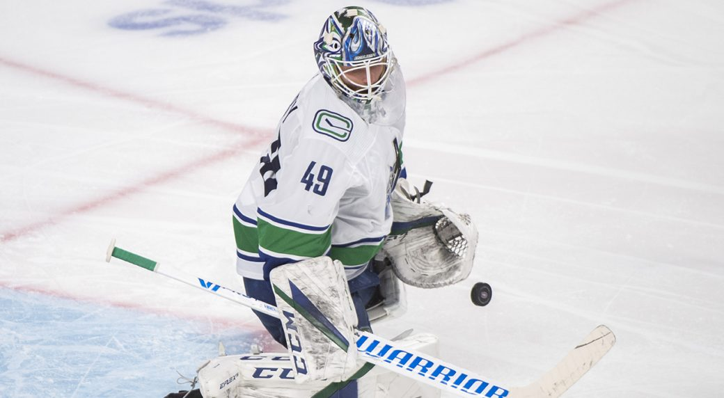 Canucks squander vintage Holtby start with lackluster performance