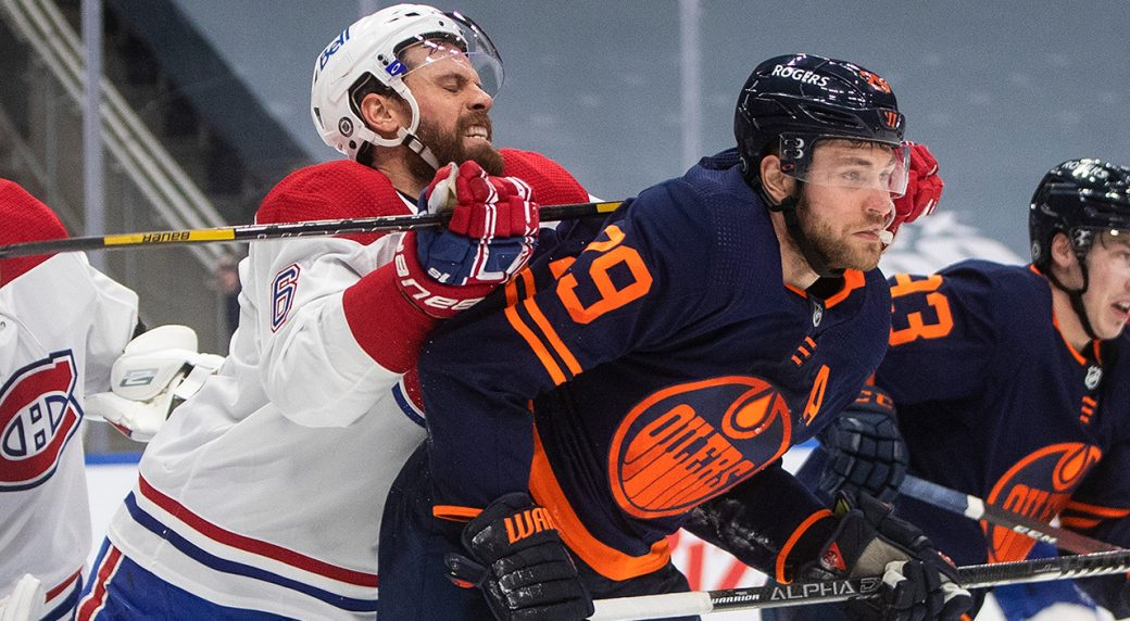Oilers get taste of playoff hockey in hard-fought Canadiens series