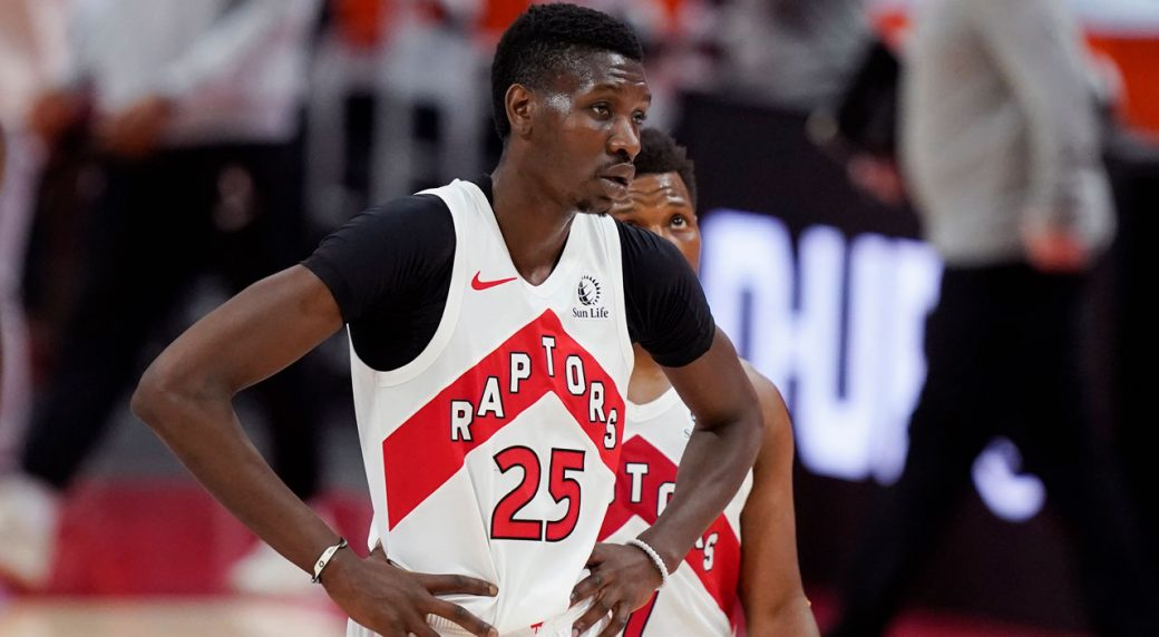 Raptors' Chris Boucher in starting lineup vs. Clippers