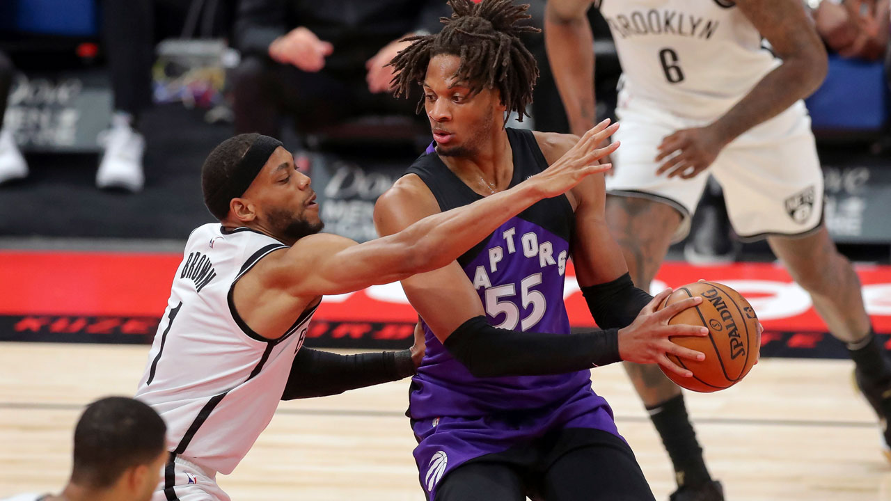 Raptors look like different team with Birch, Gillespie's added size