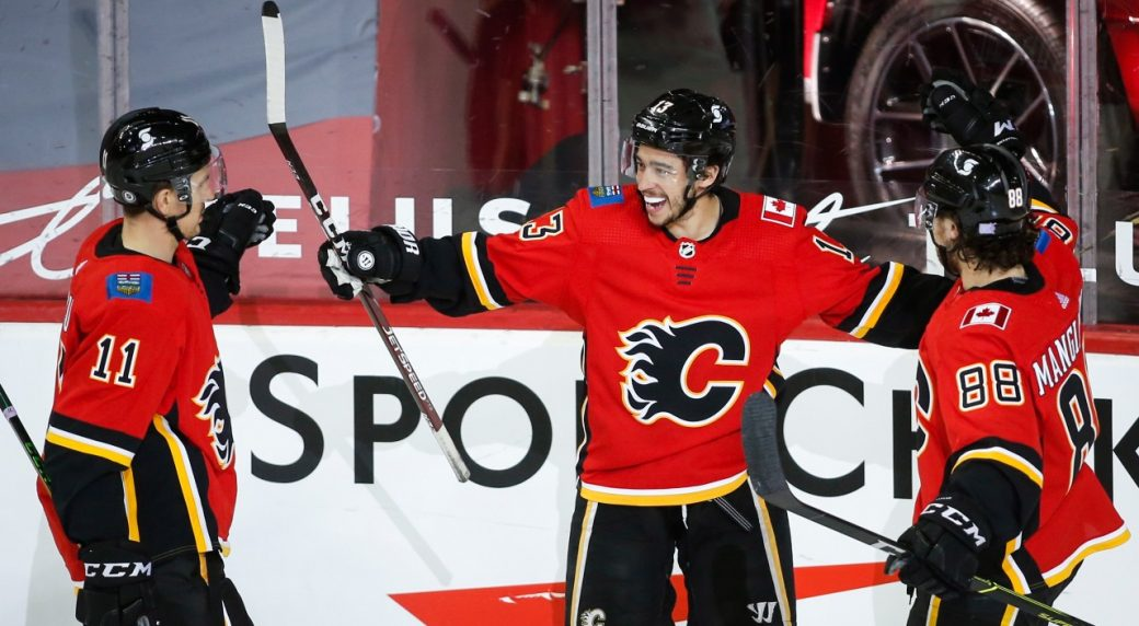 Flames net a big two points with a 5-2 win over the Canadiens