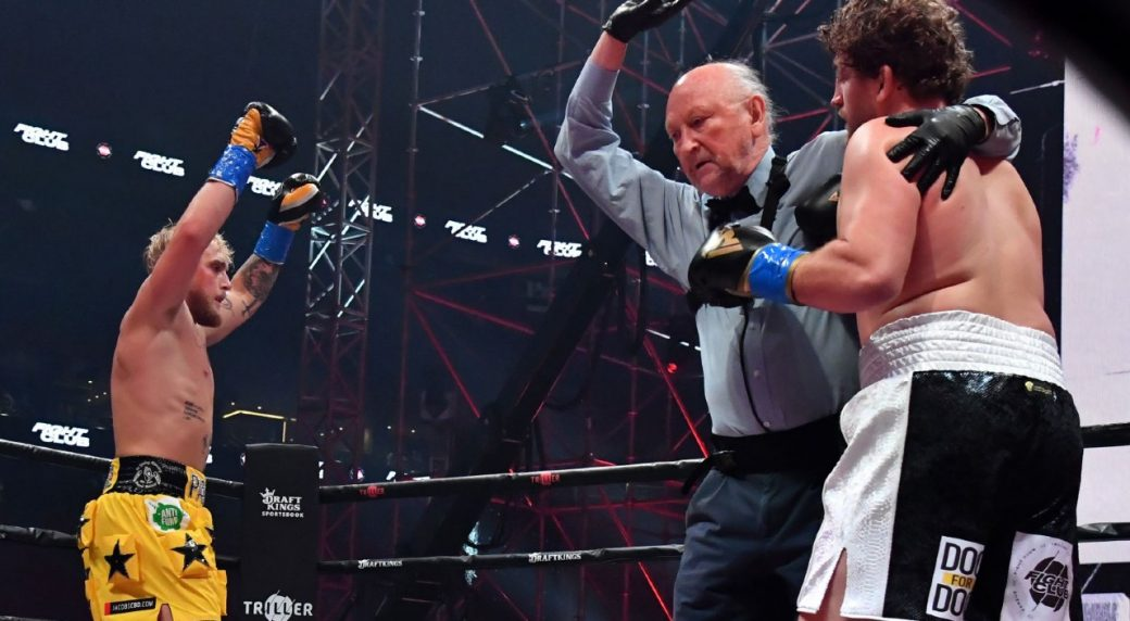 Jake Paul earns first-round knockout victory over Ben Askren - Sportsnet.ca