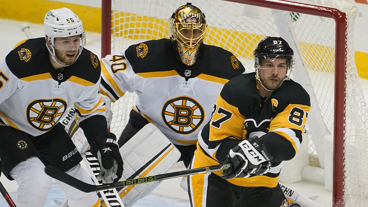 The Bruins are keeping things interesting in the East with a win over the Pens