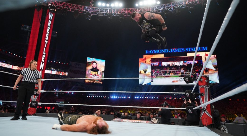 WrestleMania 37 Blog: Reaction and analysis from Night 2 - Sportsnet.ca