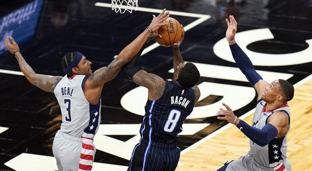 Beal returns, Westbrook triple-doubles as Wizards rout Magic