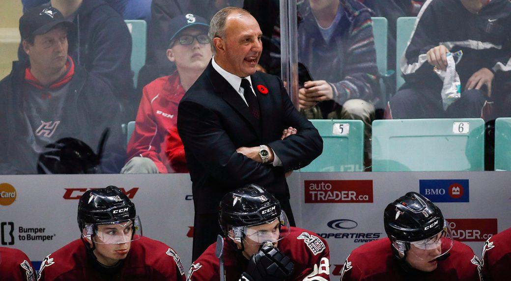 Brent Sutter steps down as head coach of Red Deer Rebels