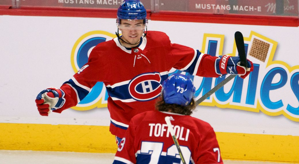 Canadiens win over Maple Leafs important first step in final playoff push