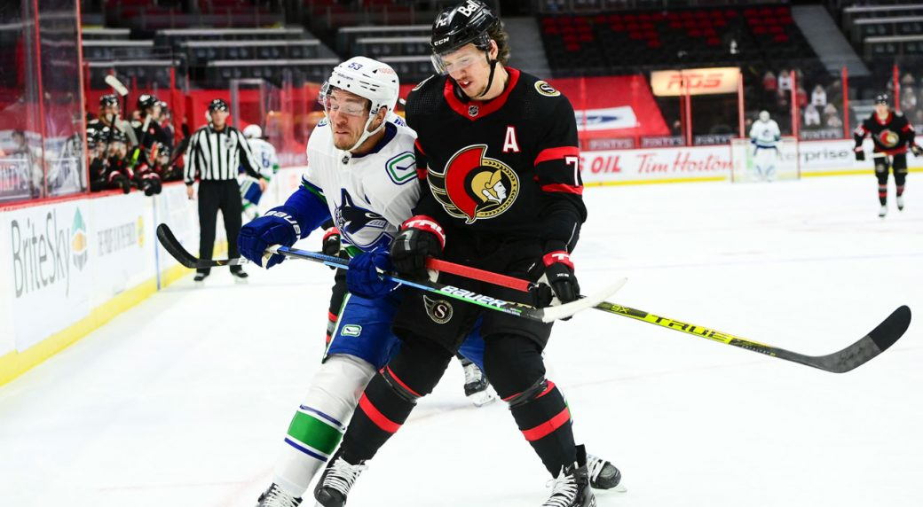 Tkachuk covers all the bases as the Sens hand the Canucks a stinging loss