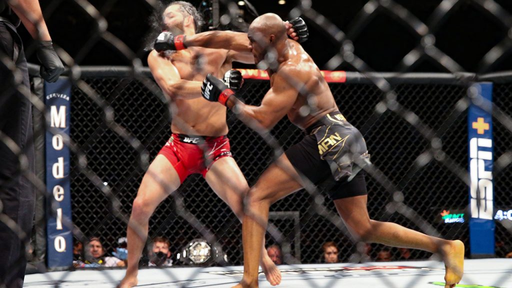 Kamaru-Usman-knocks-out-Jorge-Masvidal-at-UFC-261