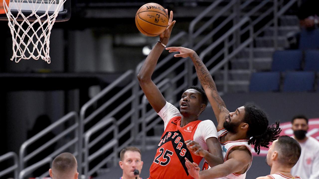 Raptors' Chris Boucher available for game vs. Bulls