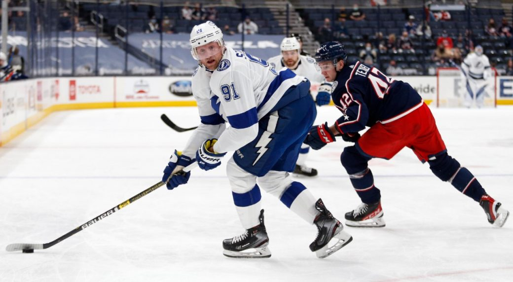 Stamkos still on the limp after Blue Jackets game