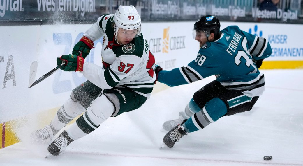 Wild earn a playoff berth with another solid effort over the Sharks