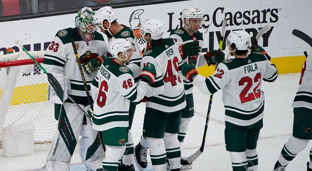 Wild keep their post-season alive with a big 4-2 win in Vegas