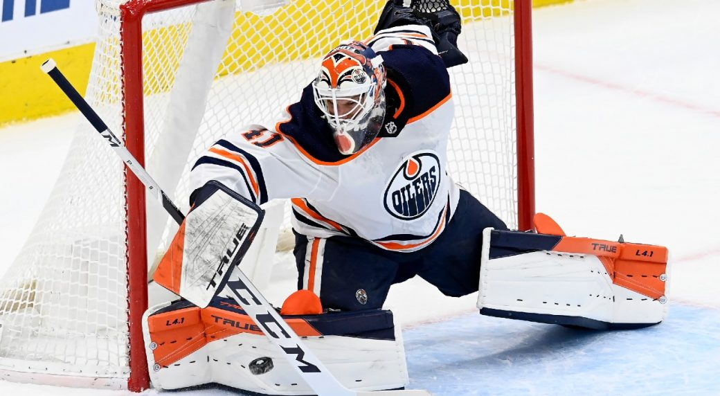 Oilers' Mike Smith not taking potential last shot at glory for granted
