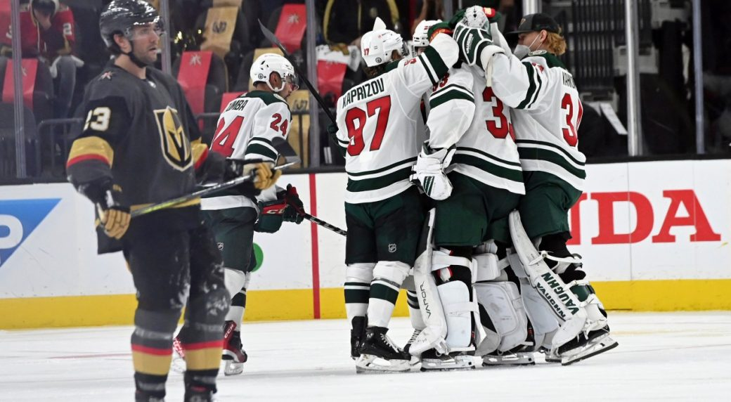 The Wild only need 1 to get past the Knights in the series opener