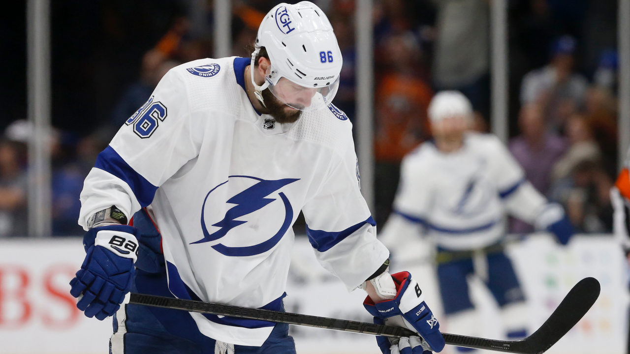 Lightning star Kucherov's injury is 'not a day-to-day thing'