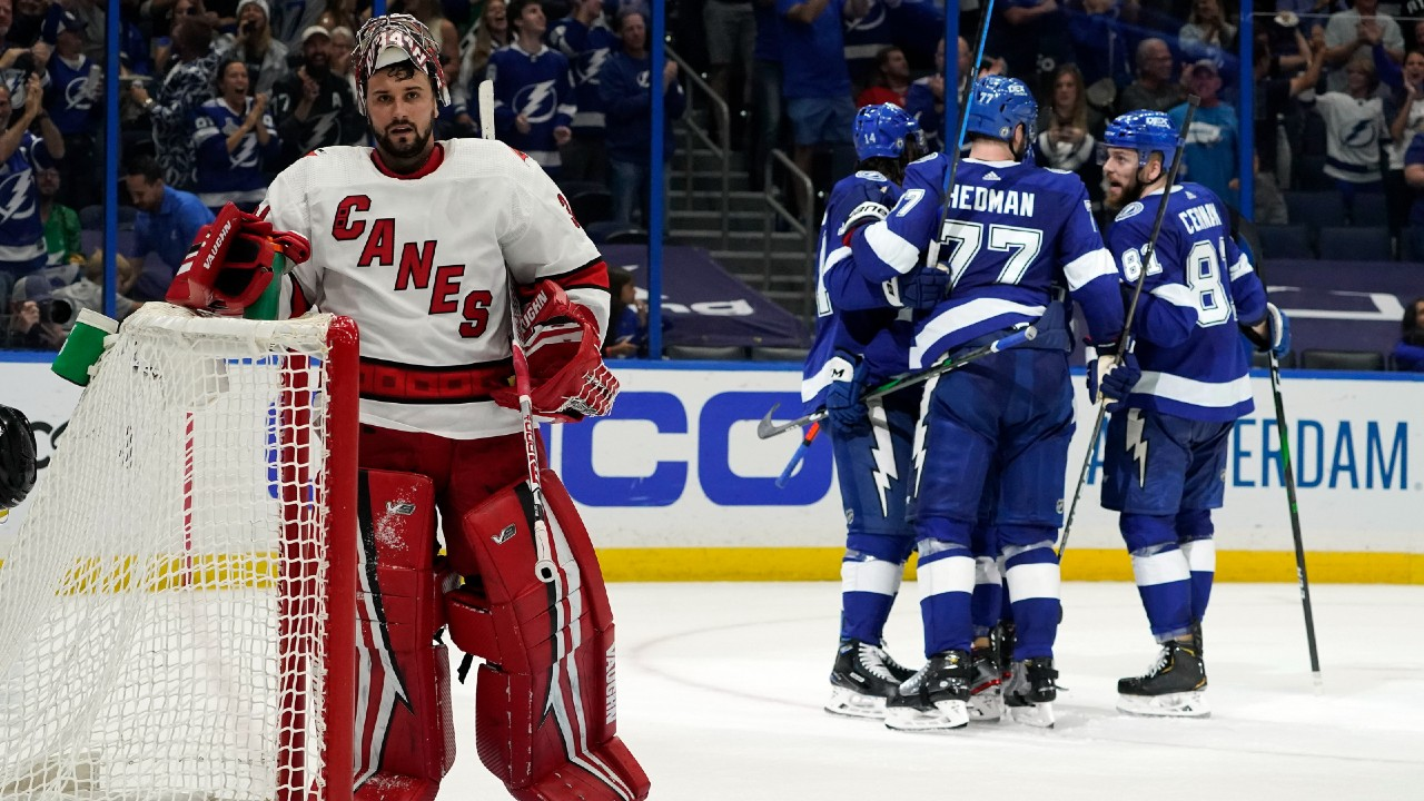 Hurricane poor discipline proves costly in 'chaotic' game 5 against Lightning
