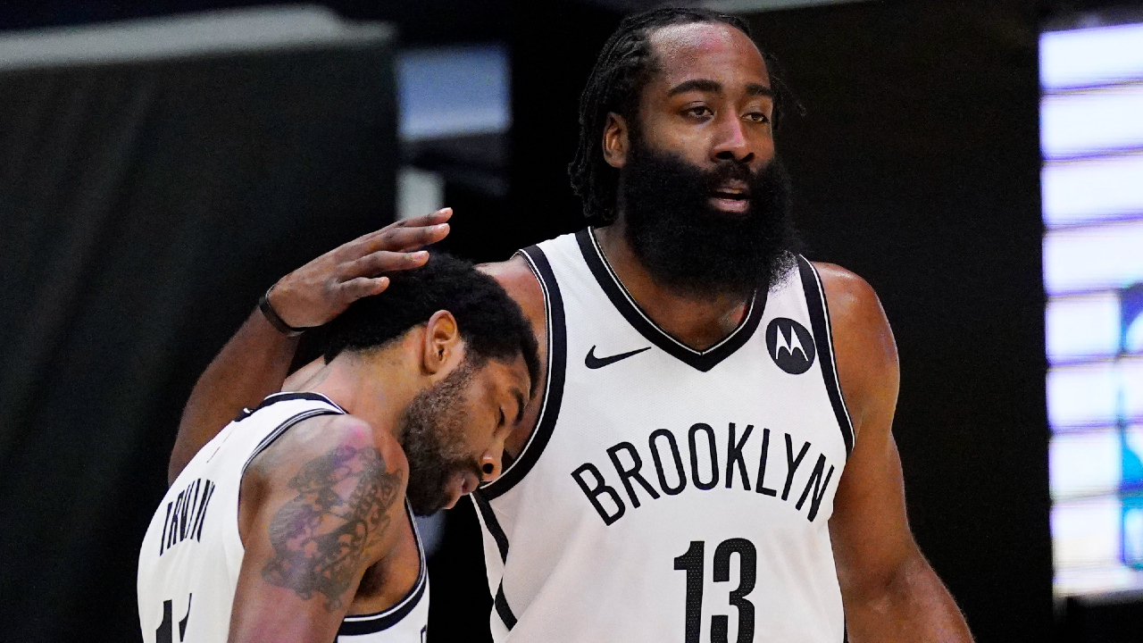 Nets' Kyrie Irving and James Harden out for Game 5 against Bucks