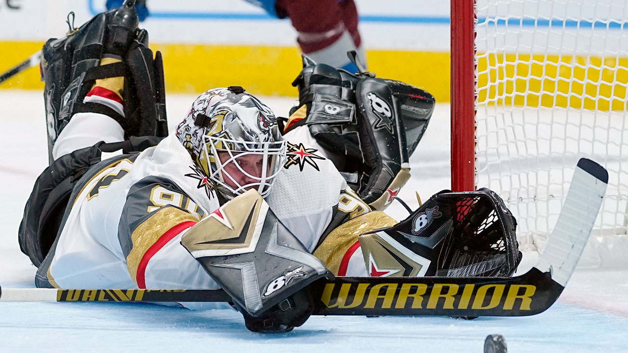 Golden Knights' Lehner Will Not Dress In Game 2 Against Avalanche;  Fleury to start