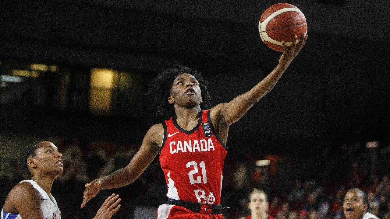 Canadian women improve to 3-0 with El Salvador win in AmeriCup