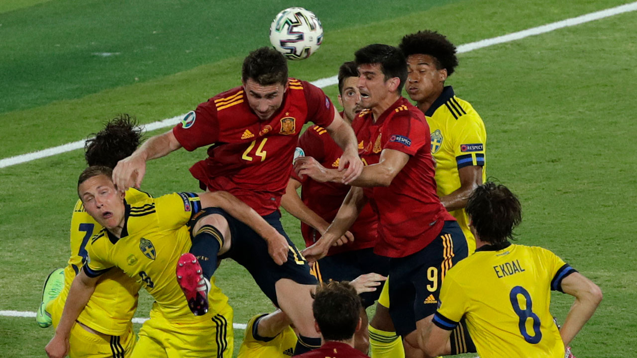 Spain fails and draws with Sweden in Euro 2020