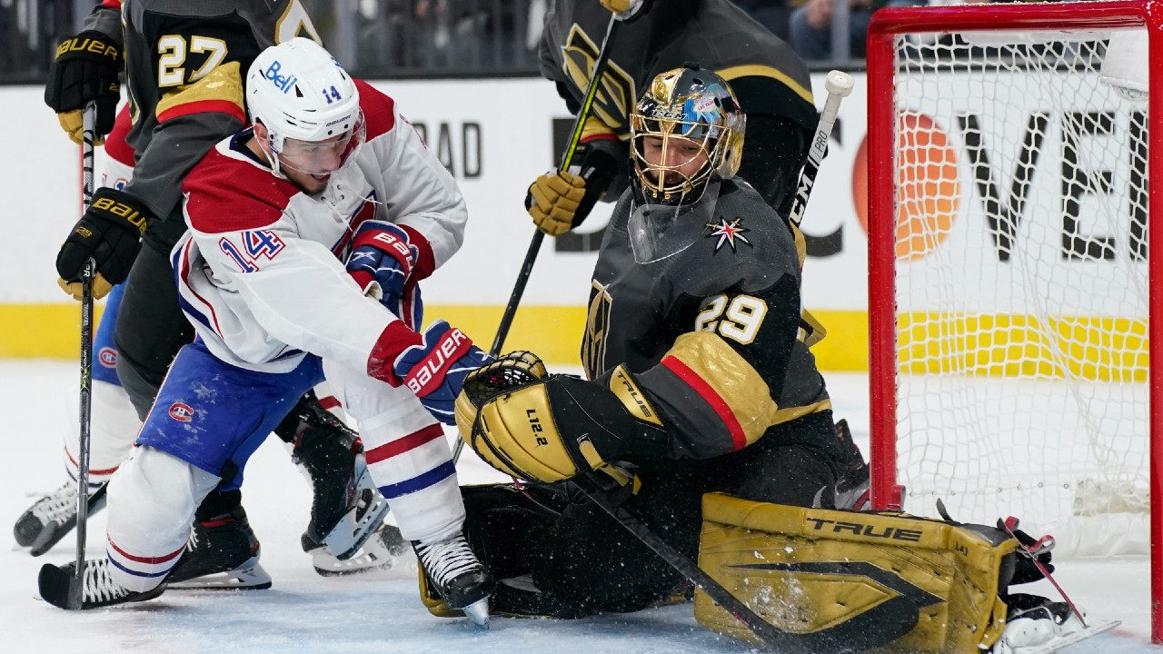 Golden Knights slowed by Canadiens' lockdown defence in Game 2 loss
