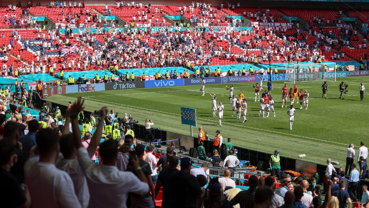 Wembley Stadium can have 65,000 fans for the semi-finals and final of Euro 2020