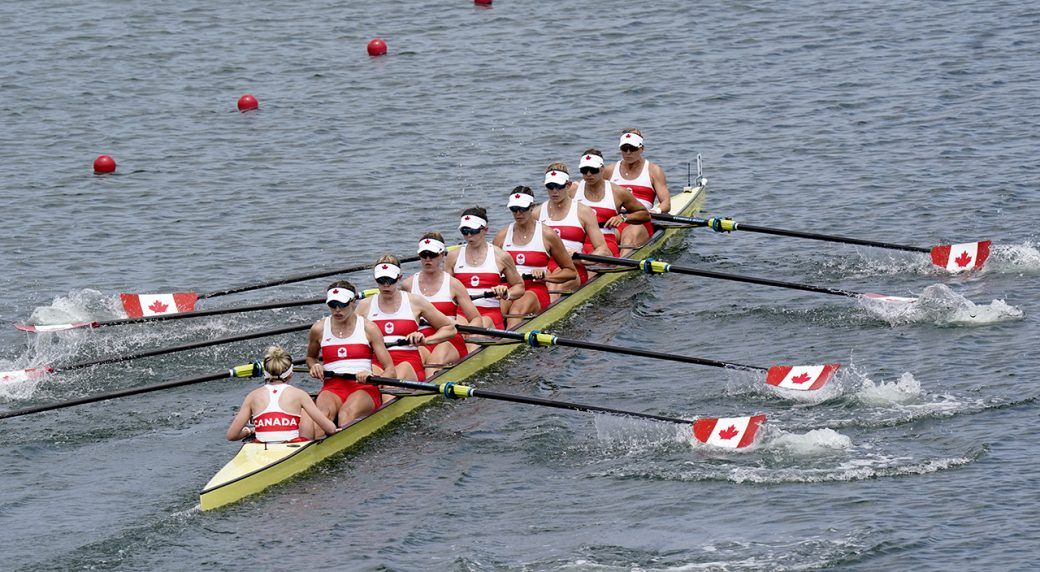 Canada's women's eight rowing crew wins gold at Tokyo Olympics
