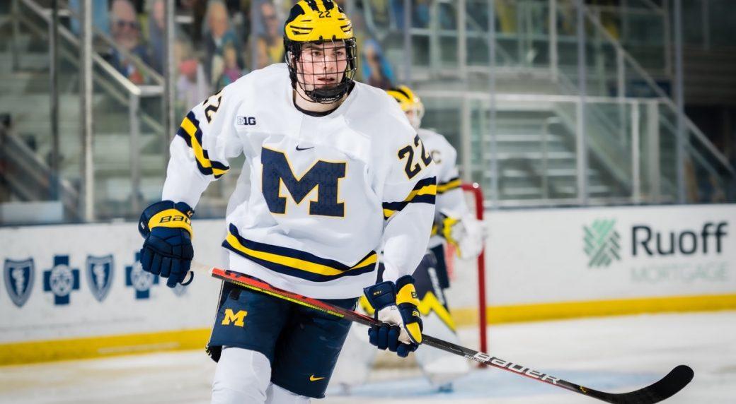 Sabers select Owen Power No. 1 pick in 2021 NHL Draft