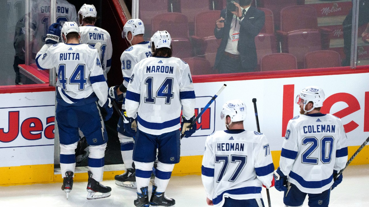 Lightning's championship plans put on hold by determined Canadiens