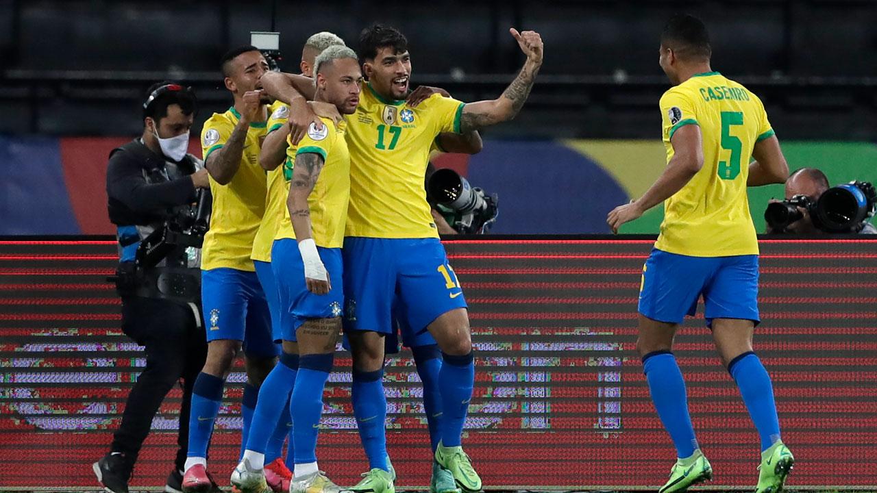 Brazil beats Chile in Copa América despite red card in second half