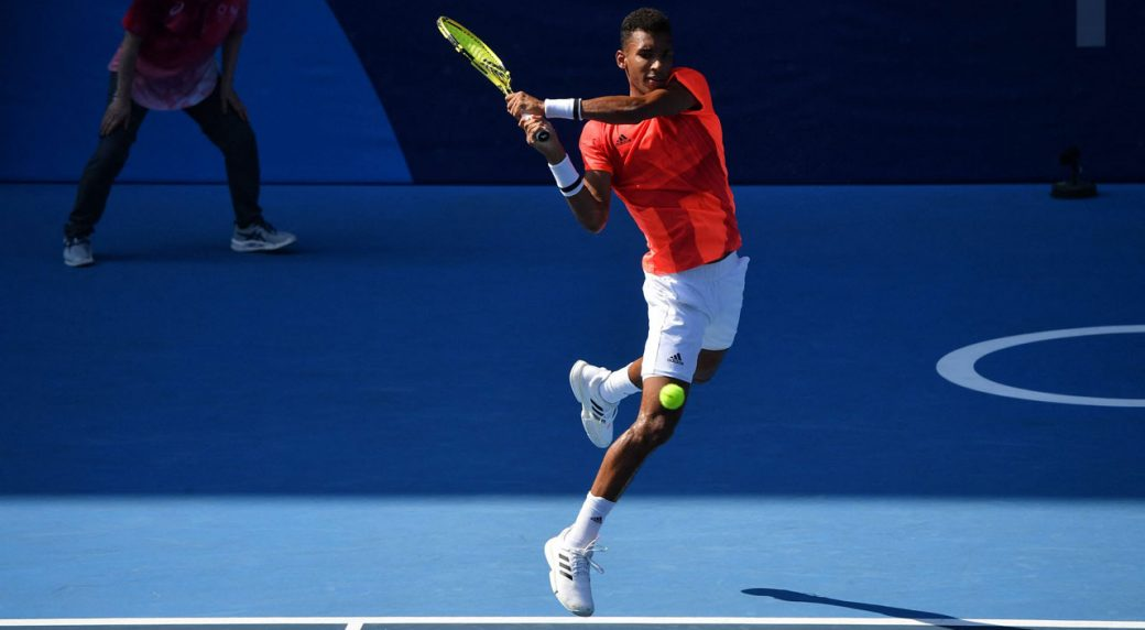 Felix Auger-Aliassime of Canada eliminated in the first round of the Tokyo Olympics