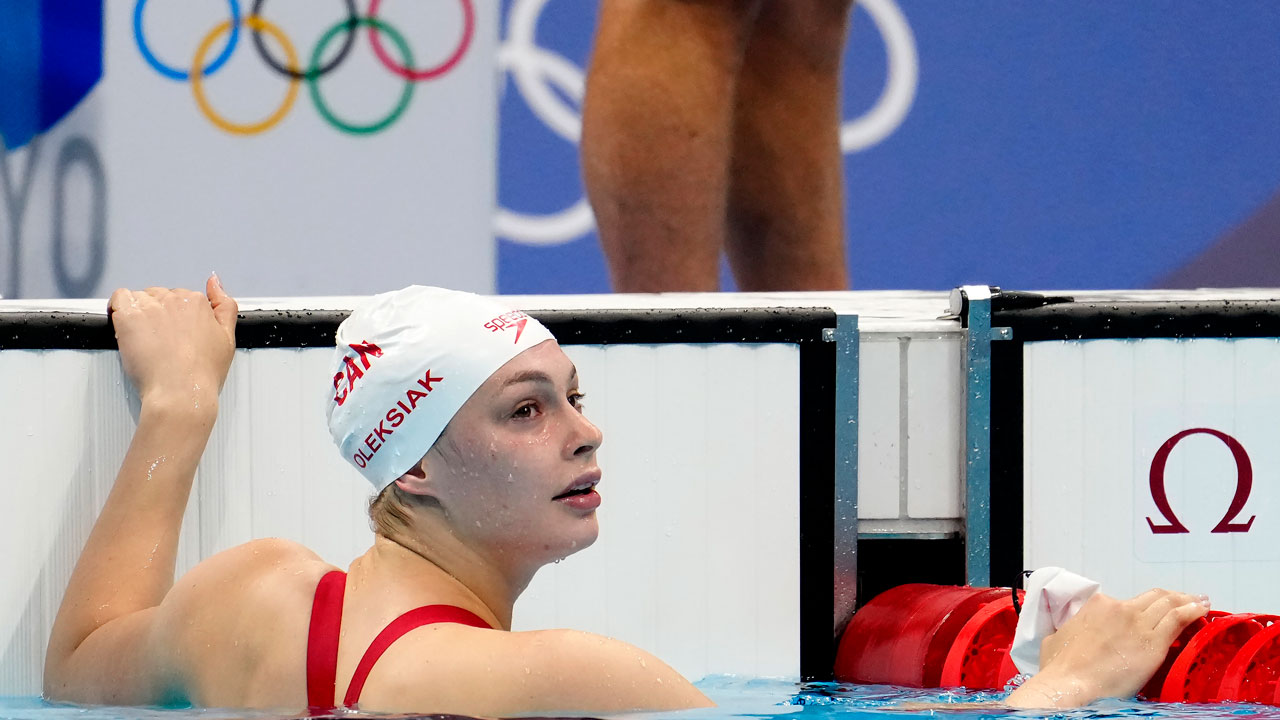 Oleksiak claims bronze in 200m freestyle for record sixth medal at Summer Games thumbnail