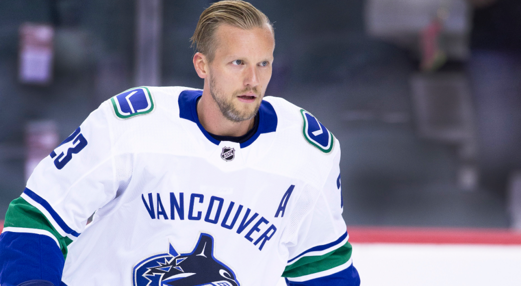 Edler is excited for a new challenge, but still faces Canucks leaving