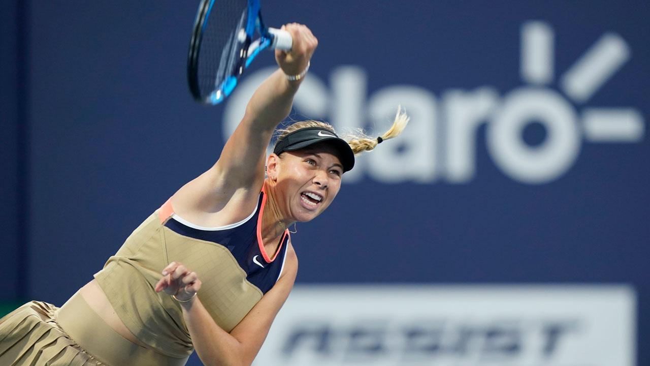 Anisimova vence a Martincova para avanzar a la segunda ronda del National Bank Open