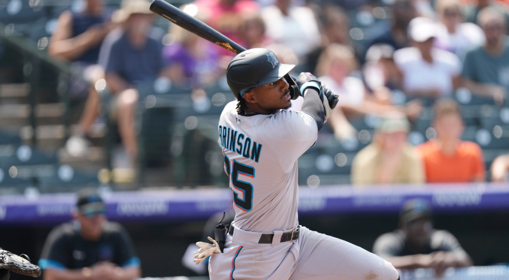 Rockies say a fan yelled the mascot's name, not a racial slur to the Marlins' Brinson
