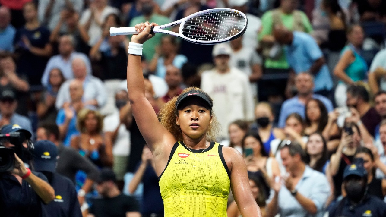 Naomi Osaka regresa ganadora al tenis de Grand Slam en el US Open