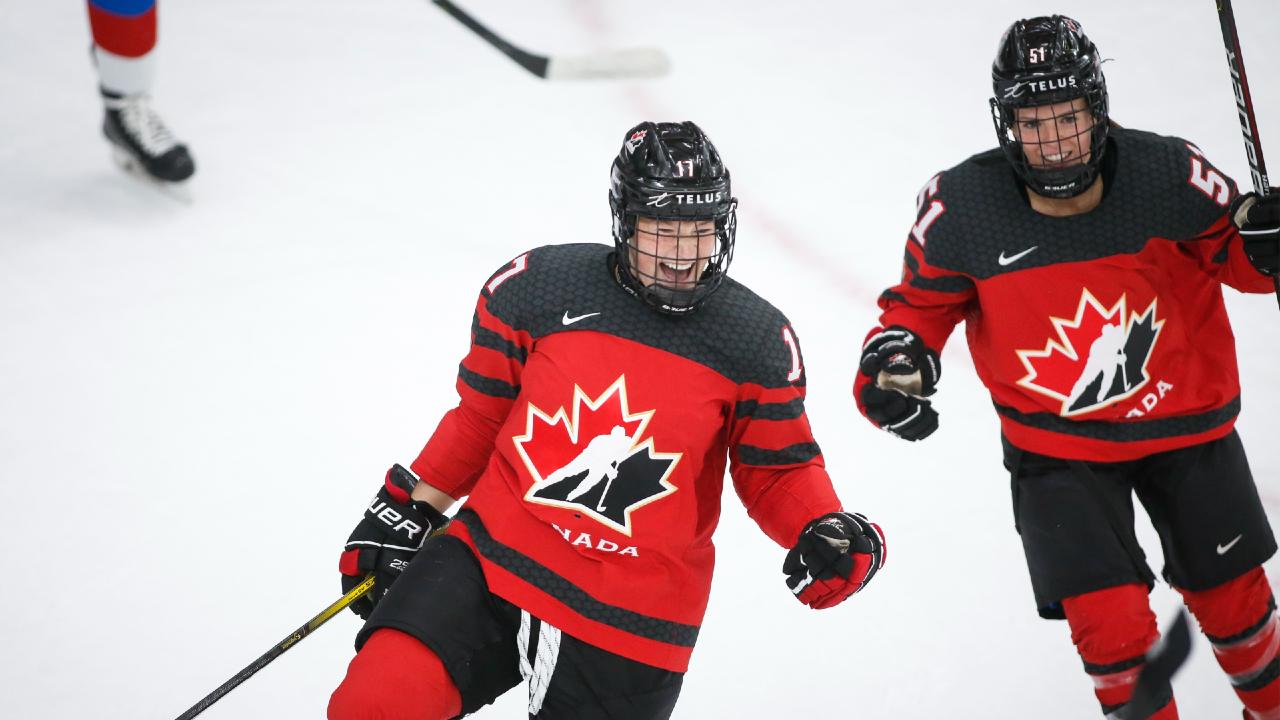 La profundidad ofensiva de Canadá brilla en la victoria dominante sobre Rusia