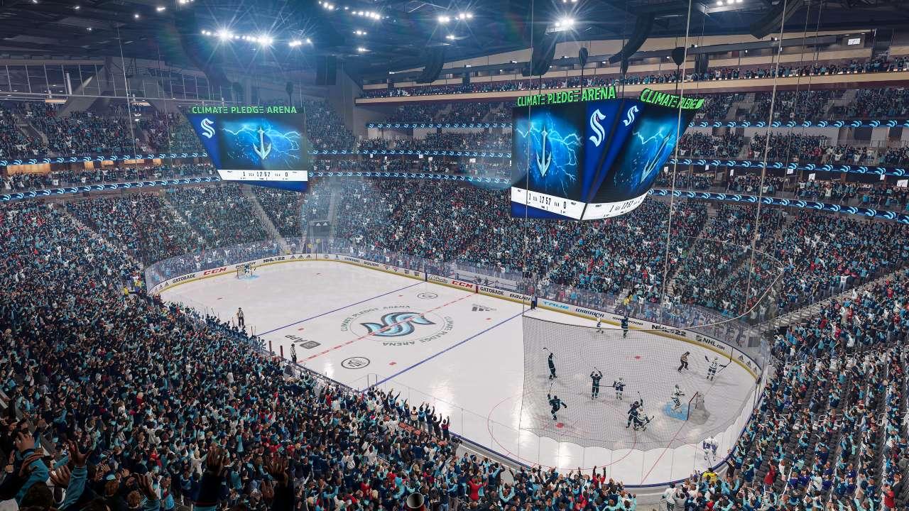 nhl22 kraken arena Auston Matthews revealed as cover star as NHL 22 enters next generation