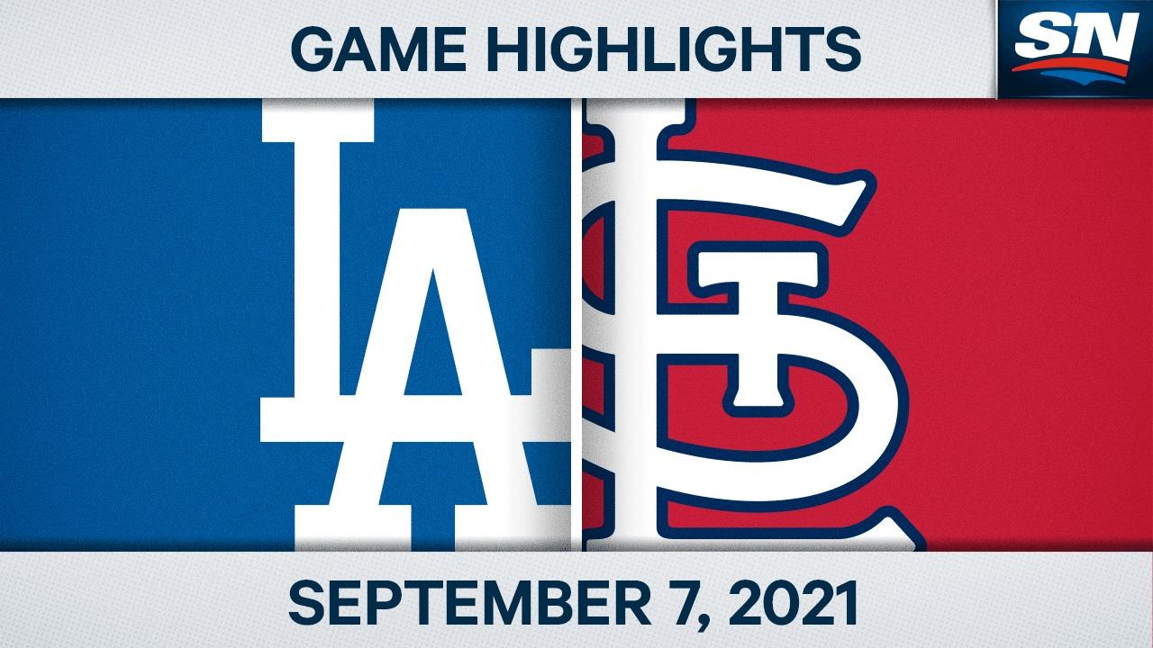 Puntos destacados: Dodgers 7, Cardinals 2