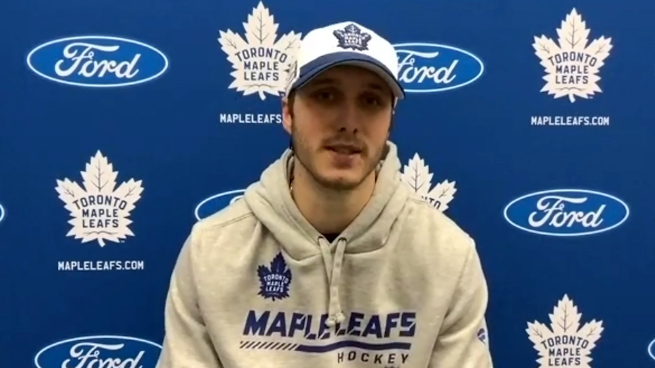 Leafs prospect Steeves finding good early chemistry with Nick Robertson