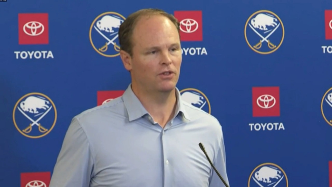 Sabres GM Adams confirms Eichel has been stripped of his captaincy