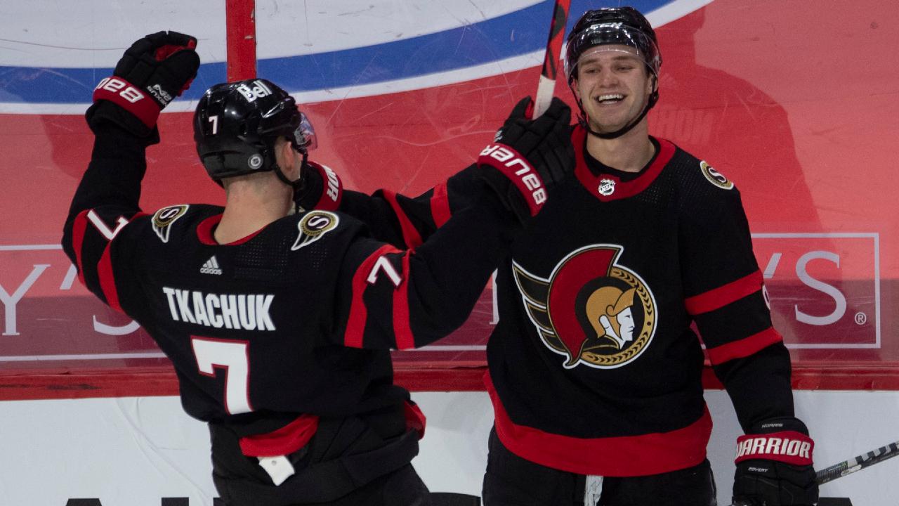 Senators' Norris misses linemate Tkachuk, but focused on having a good camp