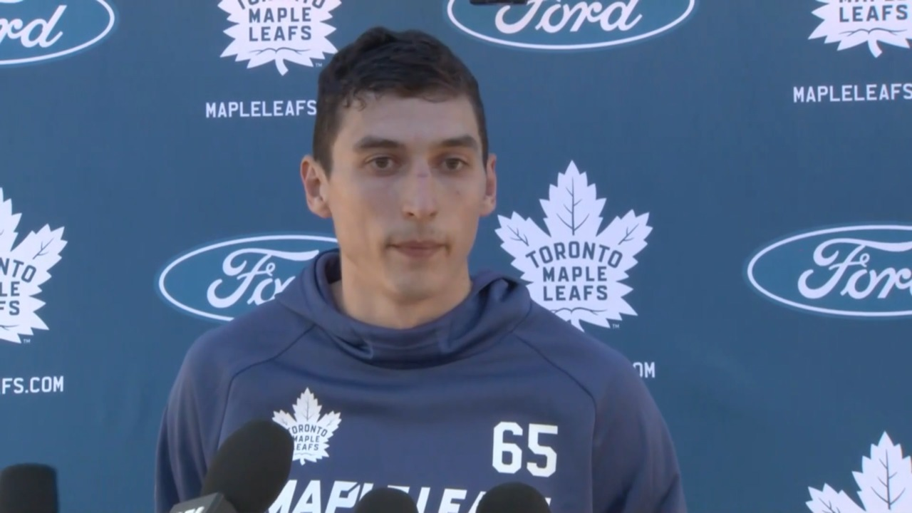 Mikheyev confirms he didn't request a trade from Maple Leafs in off-season