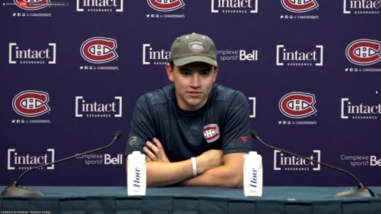 How will Suzuki's role change as part of Canadiens' leadership group?