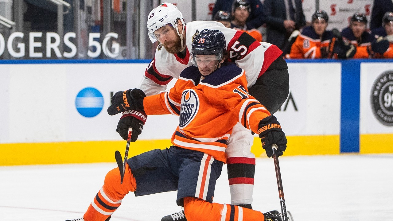 How will the Oilers handle situation with Archibald being unvaccinated?